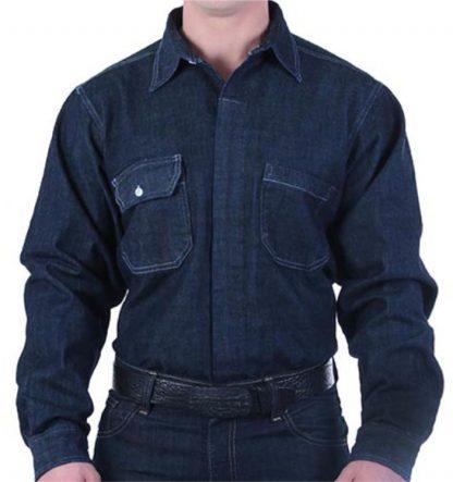 camisa jean alto impacto